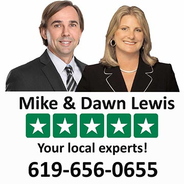 Mike and Dawn Lewis 5 Star San Diego Realtors