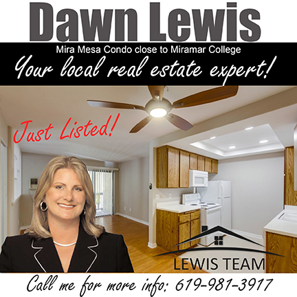 Mira Mesa Condo by Dawn Lewis Just Listed