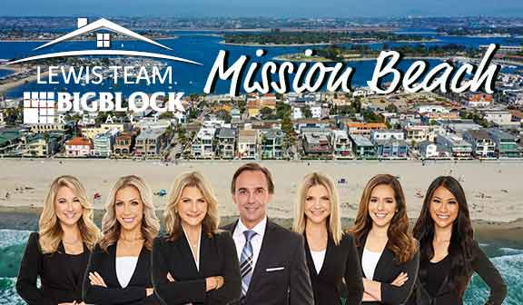Mission Beach real estate for sale The Lewis Team