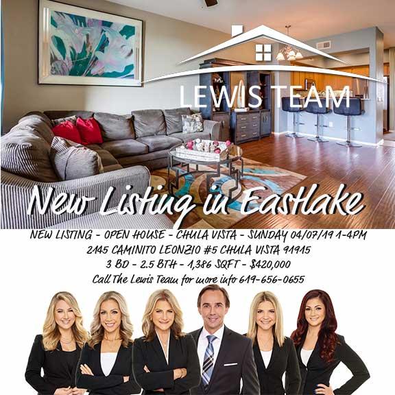 New Listing in Eastlake Chula Vista CA