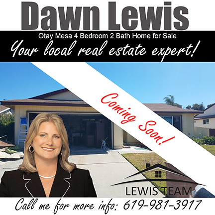 Otay Mesa Home for Sale by Dawn Lewis Coming Soon