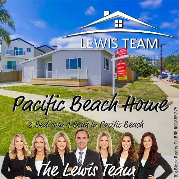 Pacific Beach Home for Sale The Lewis Team San Diego
