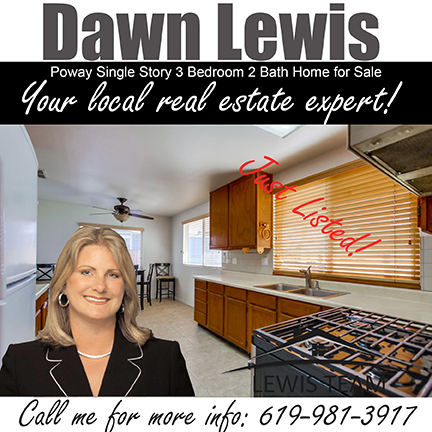 Poway Home offered by Dawn Lewis and The Lewis Team