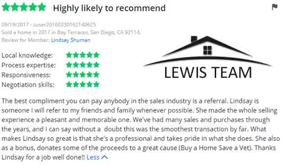 Real Estate Review for San Diego Real Estate Agents The Lewis Team