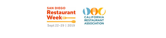 San Diego Restaurant Week 2019 Sept.