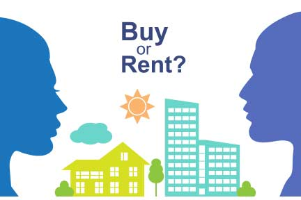 Should I buy or rent a home