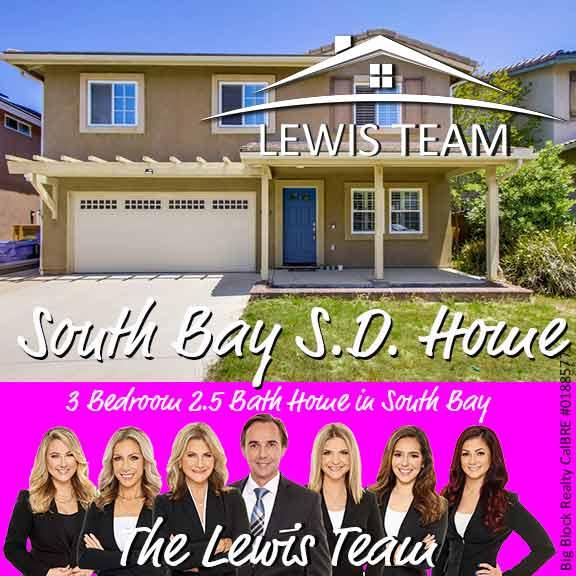 South Bay San Diego Home The Lewis Team San Diego