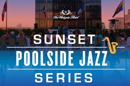 Sunset Poolside Jazz Series San Diego July 2019