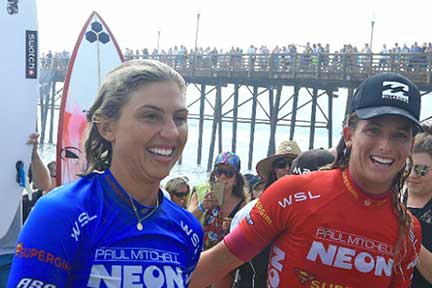 Super Girl Surf Pro San Diego Event July 2019