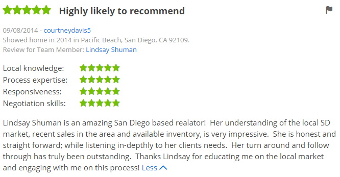 Zillow Agents in Pacific Beach - Top Zillow Agents in San Diego CA - The Lewis Team San Diego