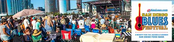 blues festival in San Diego CA 2019