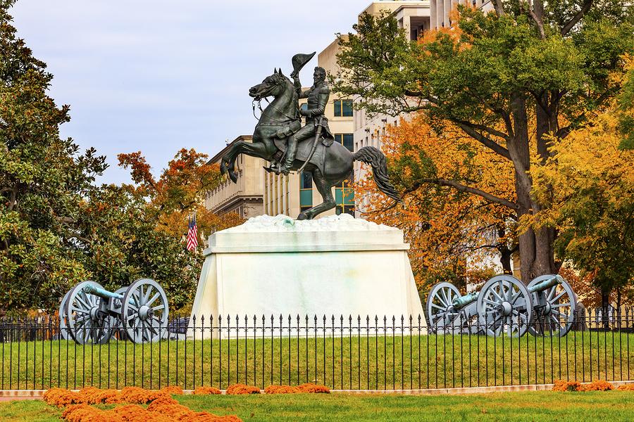 Explore DC real estate on Lafayette Square.