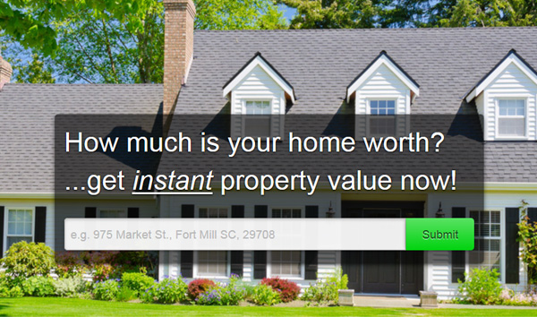 Your home's value in minutes!