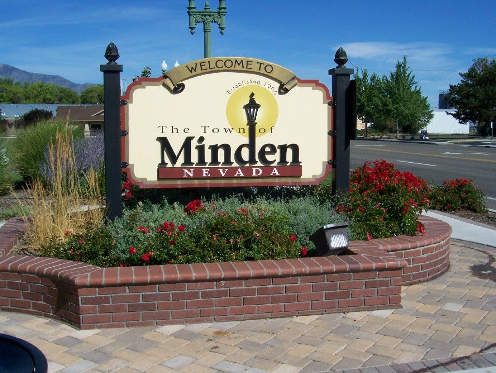 Downtown Minden Sign