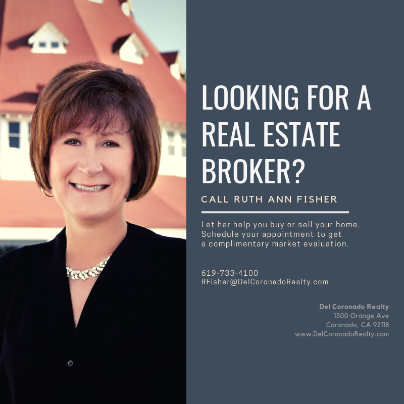 Ruth Ann Fisher Broker at Del Coronado Realty