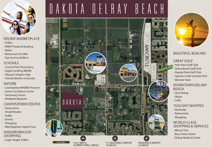 Dakota Delray Area