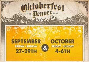 2013 Denver Oktoberfest dates