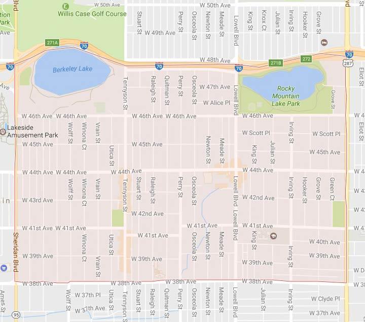 Berkeley neighborhood map