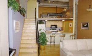 Denver Golden Triangle Cadillac Lofts 80204 Dining Room