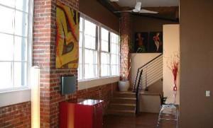Denver Golden Triangle 80204 Cadillac Lofts Hallway