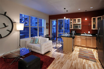 Creekside lofts and condos for sale in Central Platte Valley Riverfront Denver, 1440 Little Raven Street