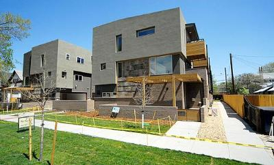 Gilpin Grove townhomes for sale in Uptown Denver