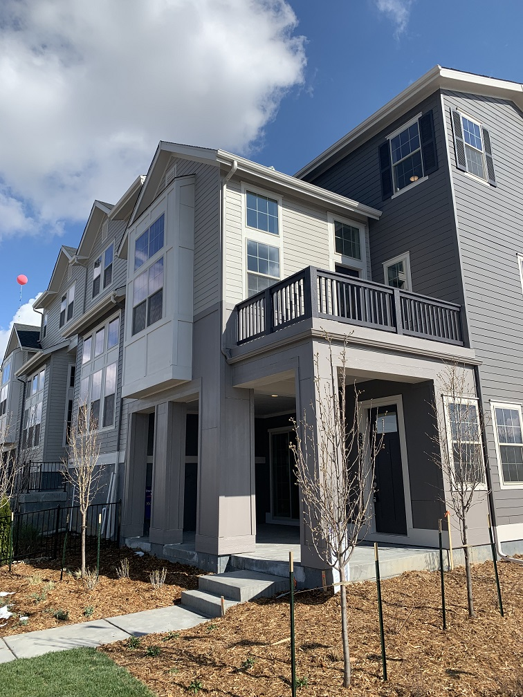 David Weekley Homes Hosts Stapleton Row Homes Grand Opening