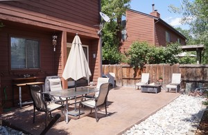 540 S. Forest Unit R- Outside Patio