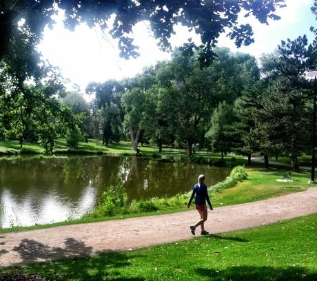 Lilly Pond at Washington Park