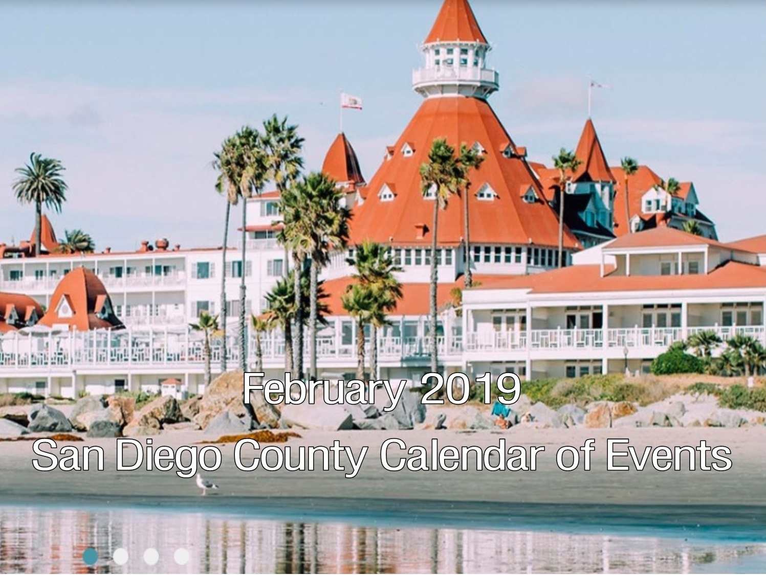 Calendar Of Events In San Diego February 2019 February 2019 San Diego County Calendar Of Events