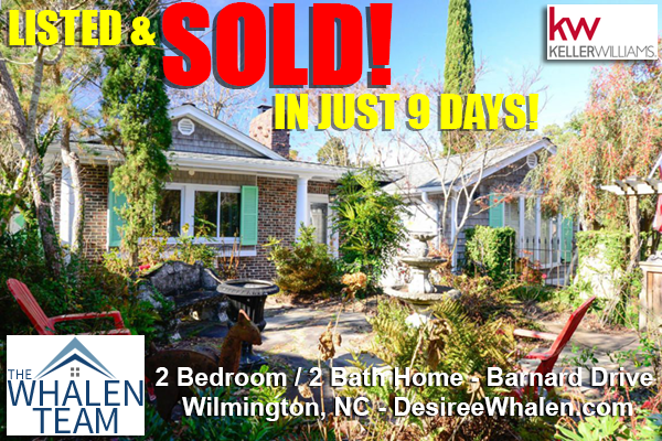 Sold Homes Wilmington NC