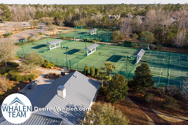 Brunswick Forest tennis and pickleball