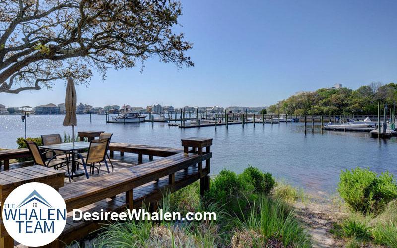 deck overloooking marina