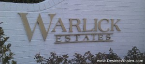 Warlick Estates, Wilmington NC