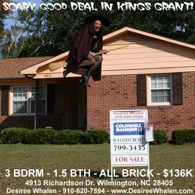 Scary Good Deal in Kings Grant! Happy Halloween!