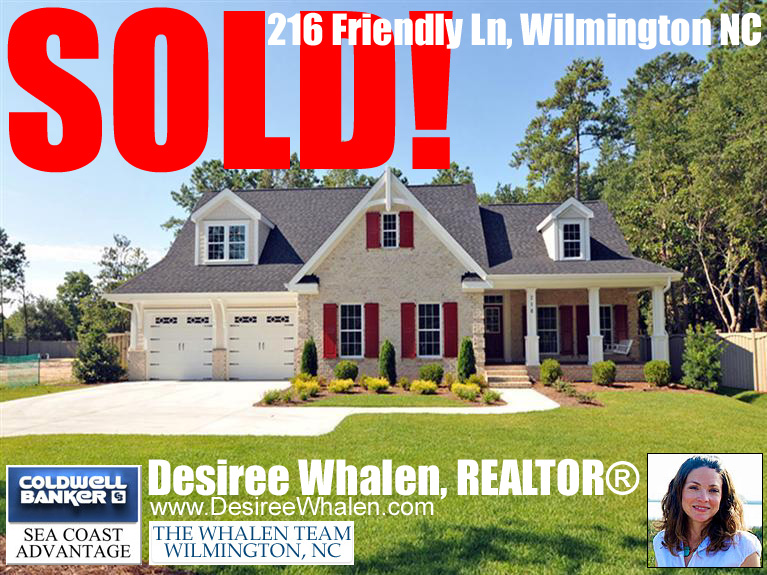 Sold! 216 Friendly Ln Wilmington, NC