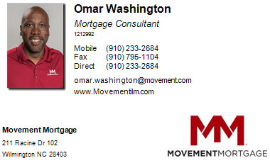 Omar Washington of Movement Mortgage