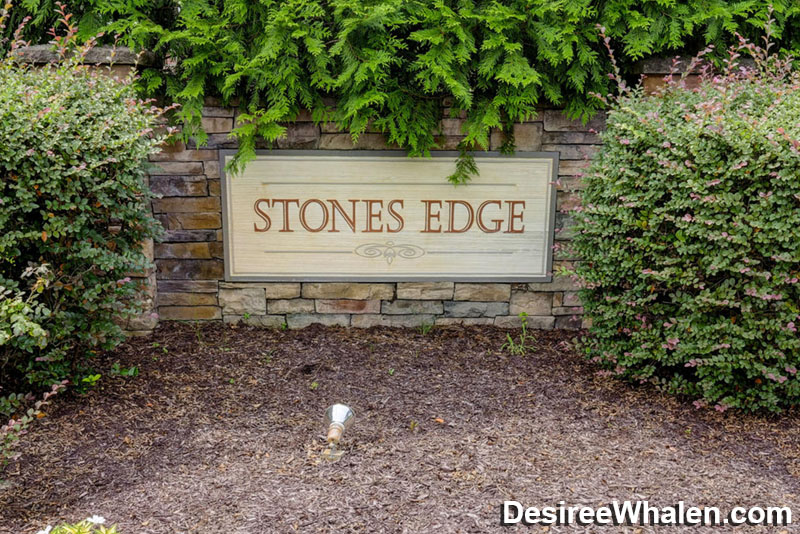 Stones Edge neighborhood entrance sign - Wilmington NC