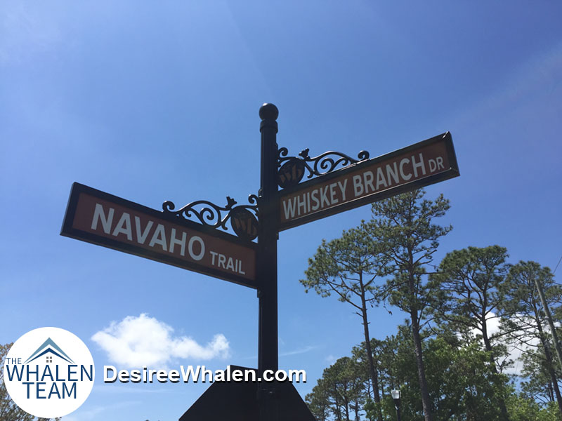 Navaho Trl and Whiskey Branch Dr