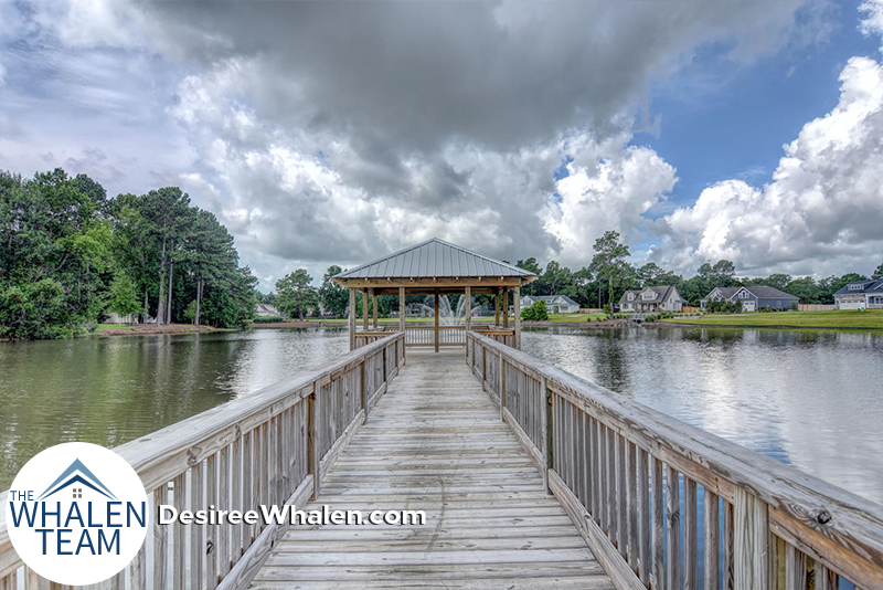 Wyndwater dock and gazebo