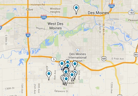 Norwalk Homes for Sale Map Search Results