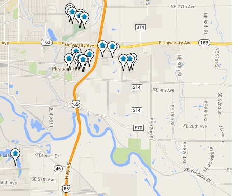 Pleasant Hill Homes for Sale Map Search Results