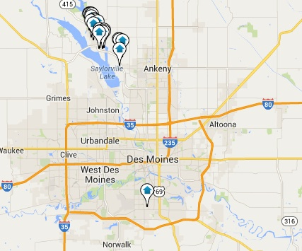 Polk City Homes for Sale Map Search Results