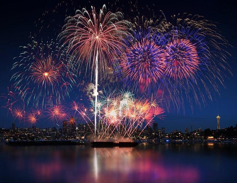 Fireworks Show at Sara Park