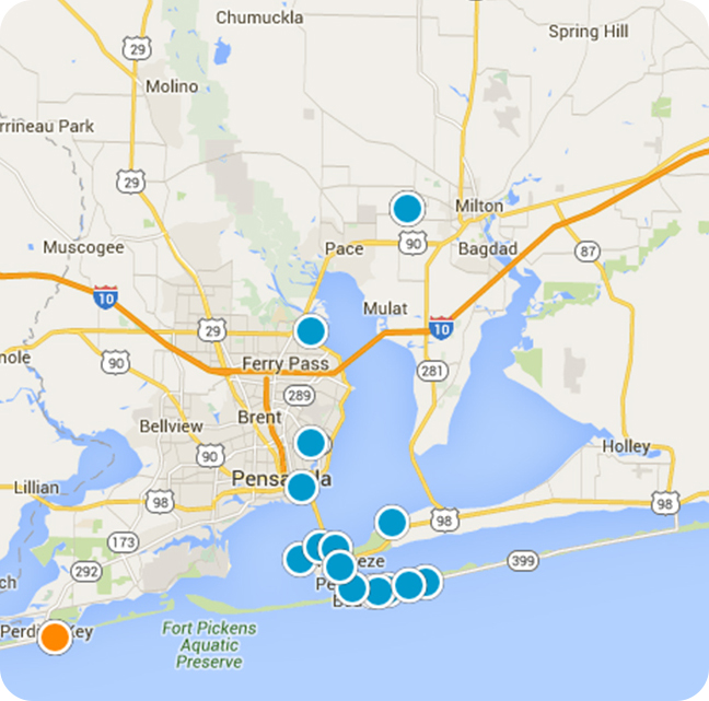 Pensacola Homes Search