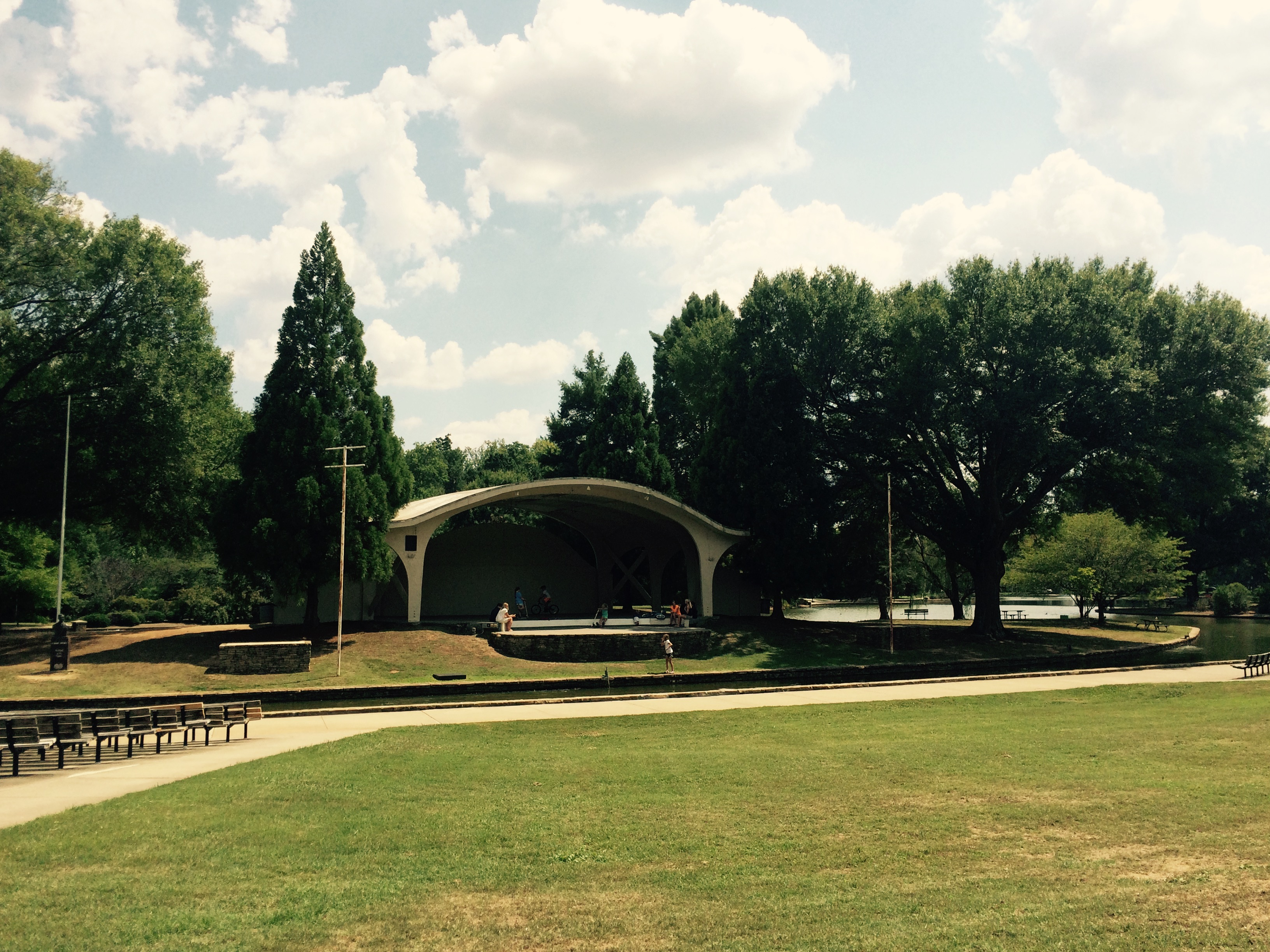 Freedom Park Band Shell
