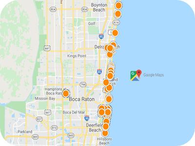 Interactive Map Search image