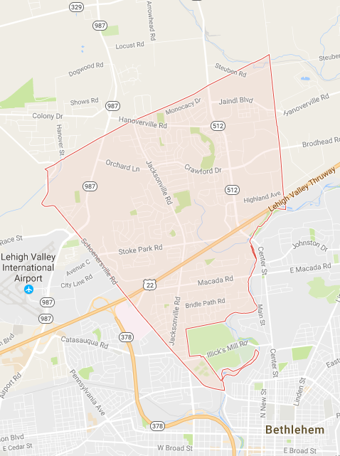 Hanover Township PA Northampton County Search Homes for Sale