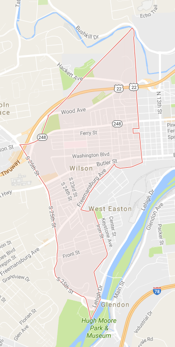 Wilson PA Search Homes Real Estate for Sale