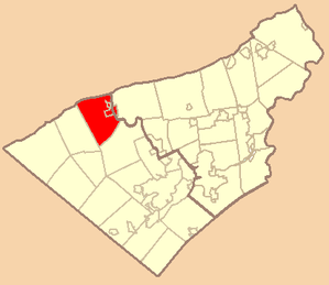 Wikipedia - Northern Lehigh School District Map